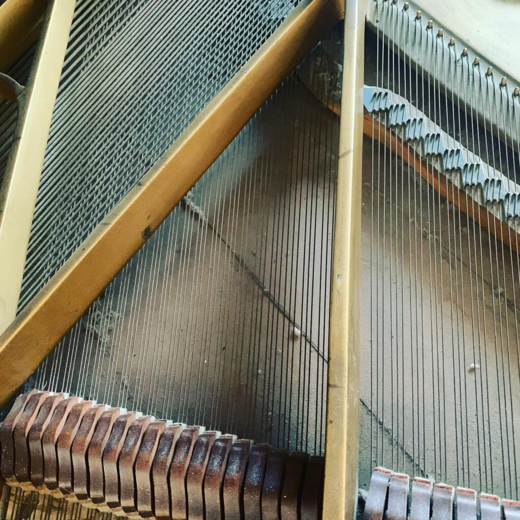 Piano cleaning services in Mid Michigan and Michigan's Thumb